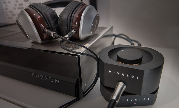 Abhörkette: Divaldi AMP-02 am PURSON DAC-1 mit Denon AH-D7100 Kopfhörer