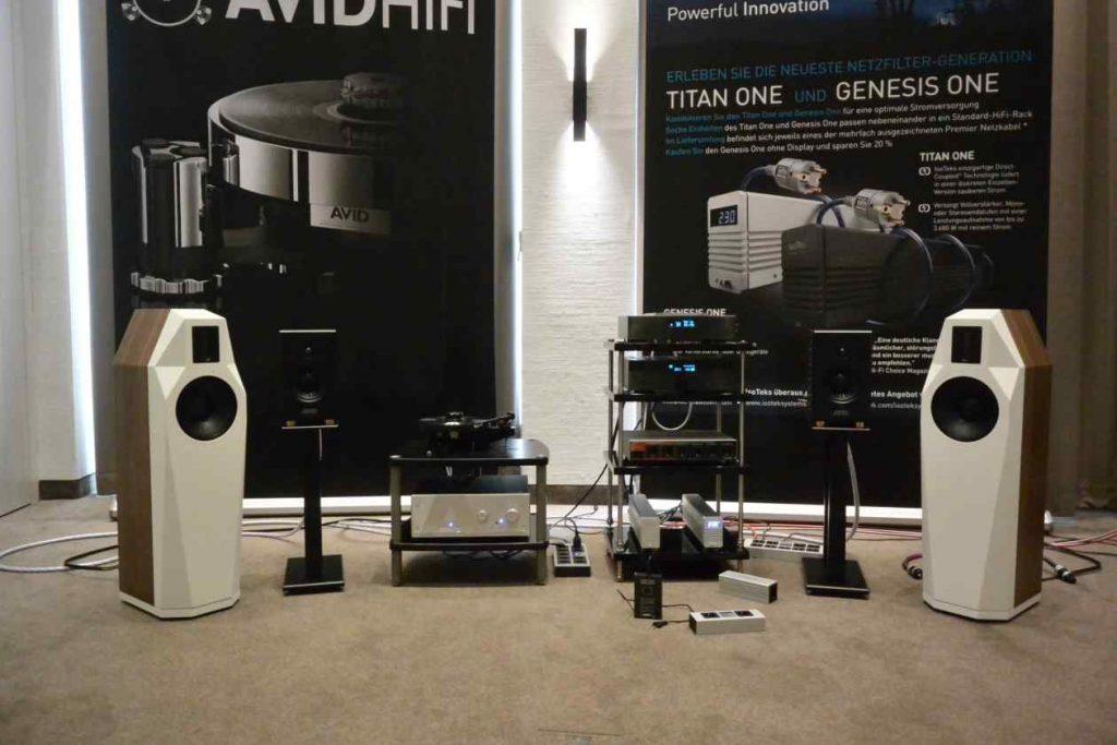 Audionet Electronik mit Finkteam Borg