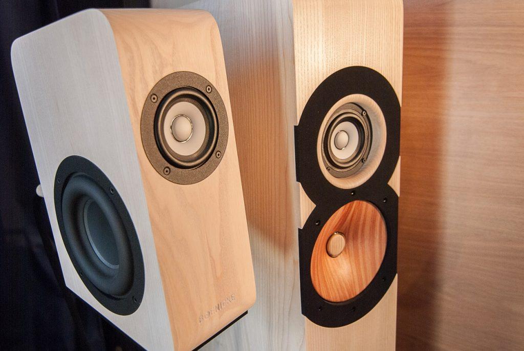 Boenicke Audio Vollholz Lautsprecher W5 und W8