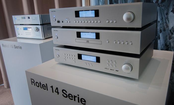 ROTEL Serie 14 in der Ausstellung