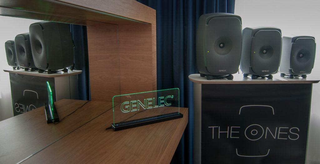 Aktive coaxiale drei-Wege Studio Monitore Genelec One