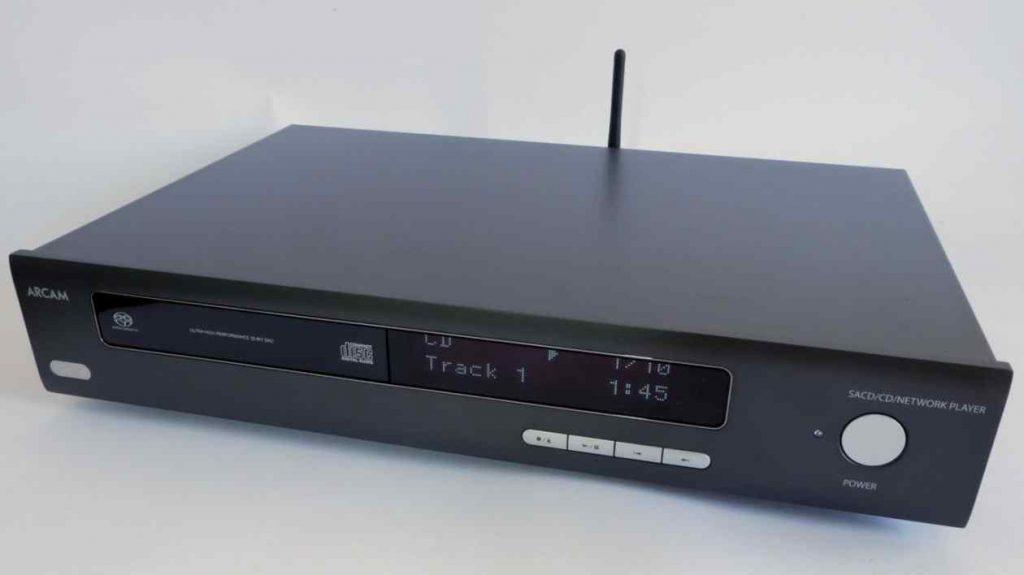 Front des Arcam CDS50 CD-Spieler und Streamer
