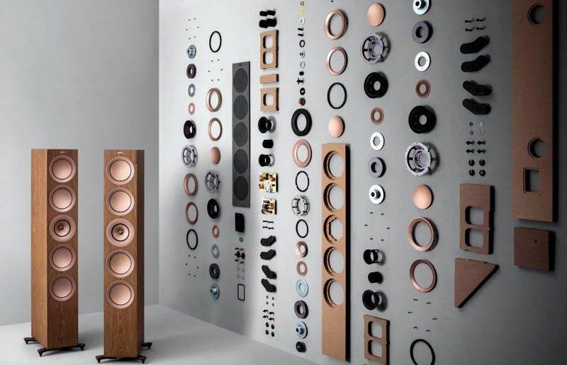 KEF r11 Lautsprecher Einzelteile