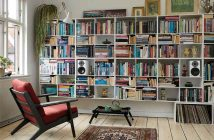 Lautsprecher Dali Oberon weiss im Wohnzimmer