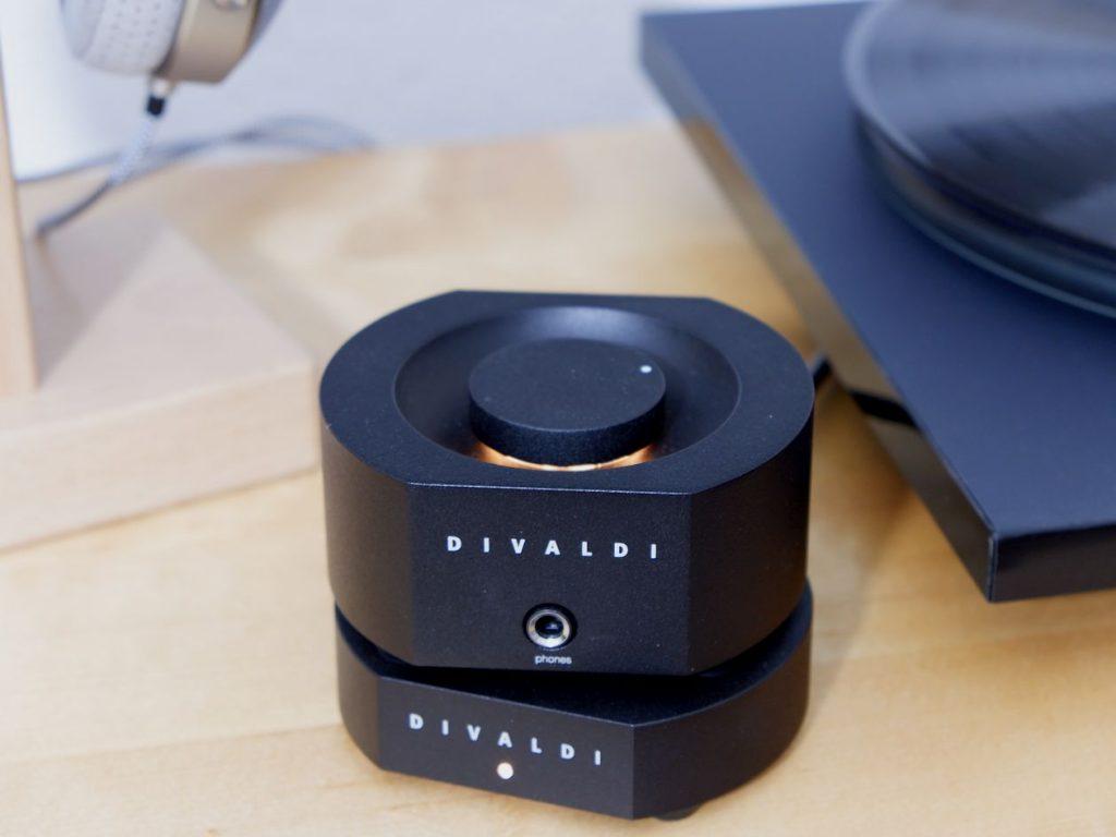 Kopfhörer Verstärker Divaldi Amp 02 mit MC- und MM sowie Line Cinch Eingang