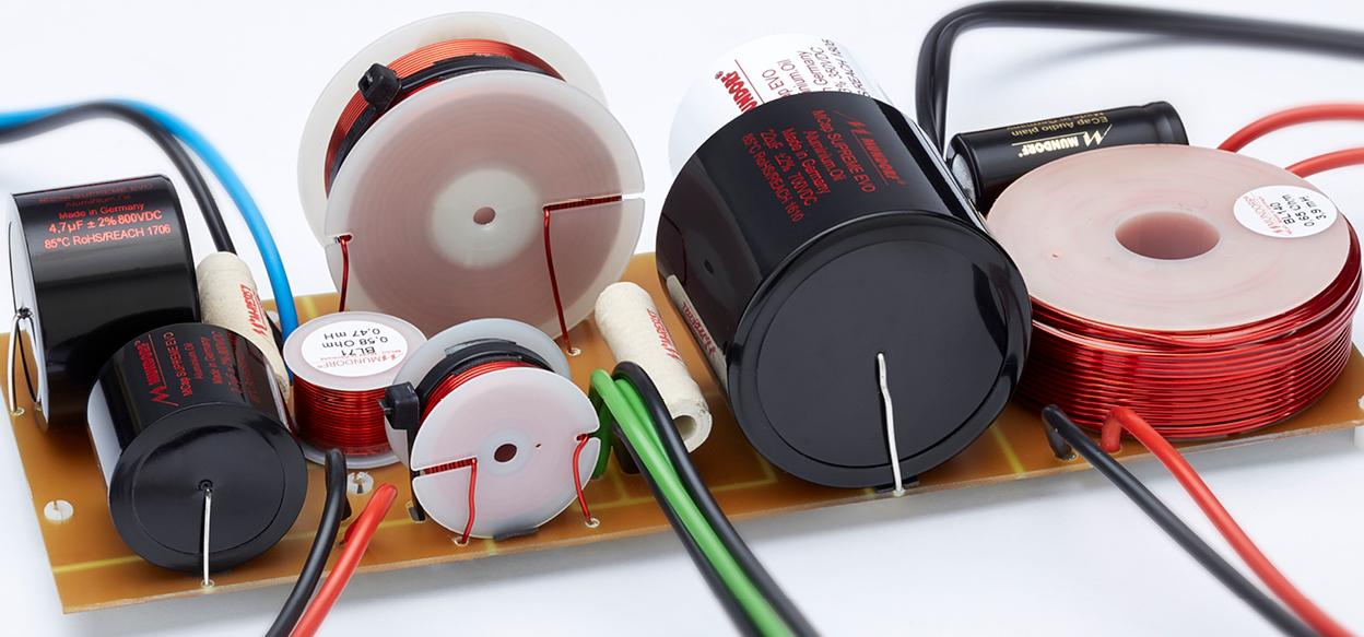 Frequenzweiche des Stand Lautsprecher Inklang Audio 17.5