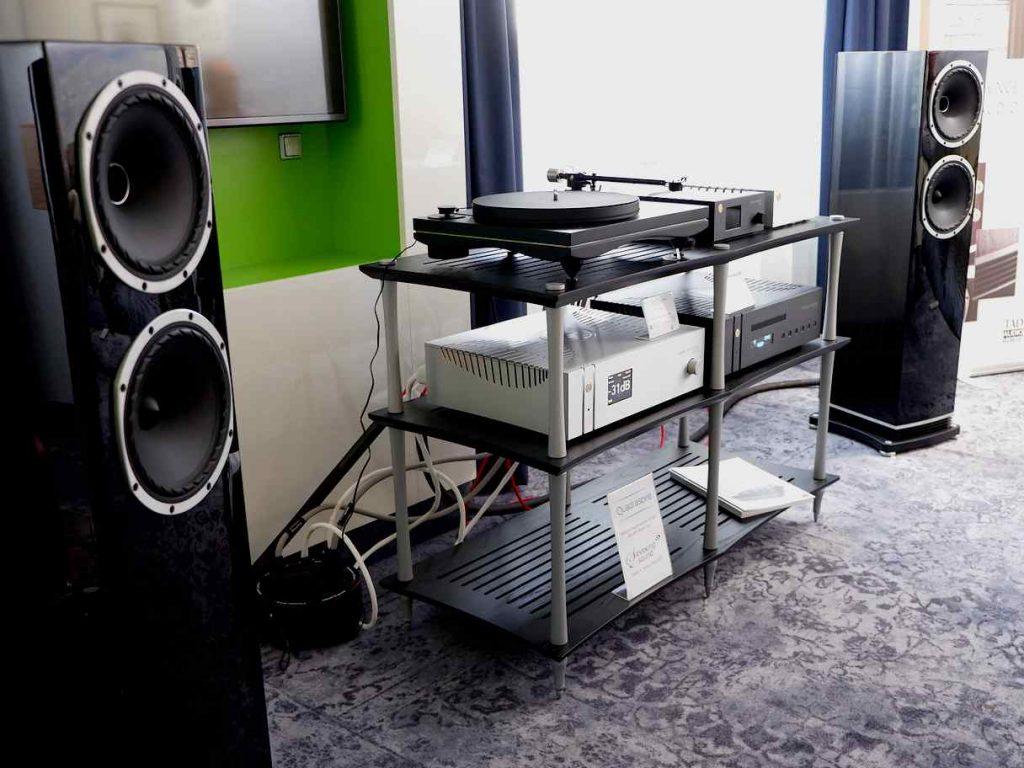 Fyne Audio F501 mit Goldnote
