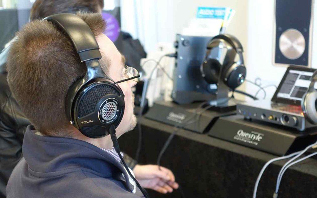 Kopfhörer Focal Utopia auf der Audiovista