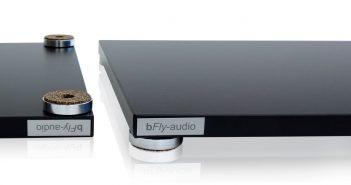bFly-audio Flat Line plus. HiFi-Basen für Plattenspieler, CD-Spieler, Verstärker und mehr