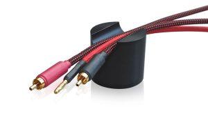 "bFly-audio ""Black Cat Cable"". Füße für HiFi-Kabel"