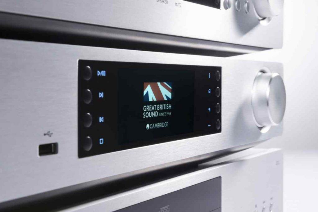 Cambridge Audio CXN V2 silber mit Chromecast Update