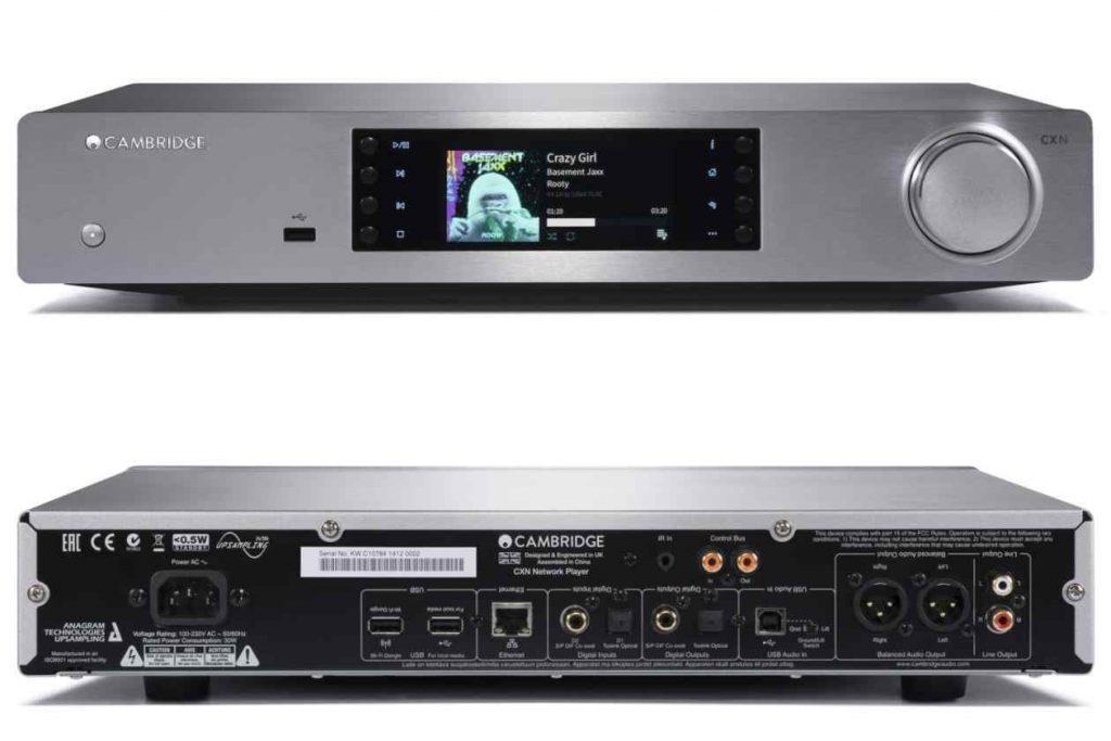 Cambridge Audio CXN V2 mit Google Chromecast