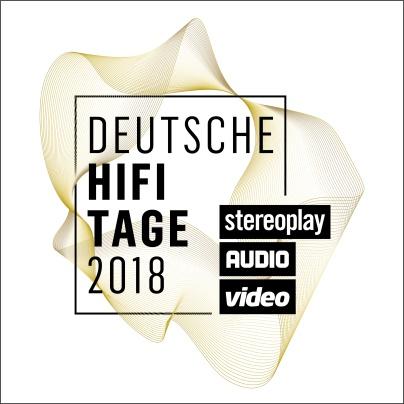 Logo der Messe Deutsche HiFi-Tage der HiFi-Magazine Stereoplay und Audio