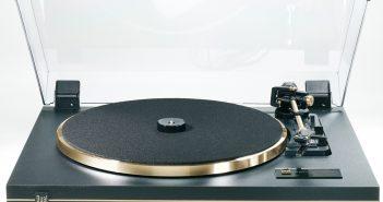 Dual CS 455-1 Plattenspieler schwarz/gold