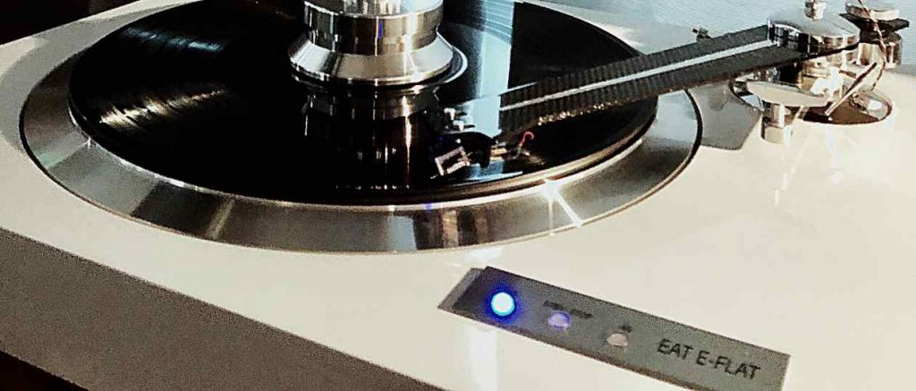 Plattenspieler Vinyl EAT Eve- Flat