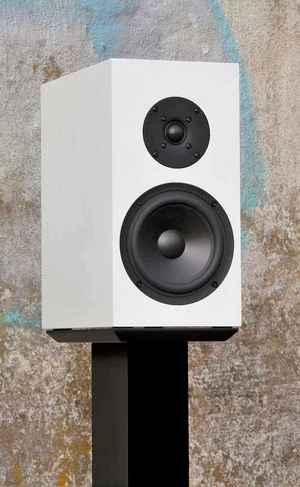 Buchardt kompakter Lautsprecher S300 in weiß