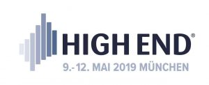 Logo der HiFi-Messe High End 2019 in München