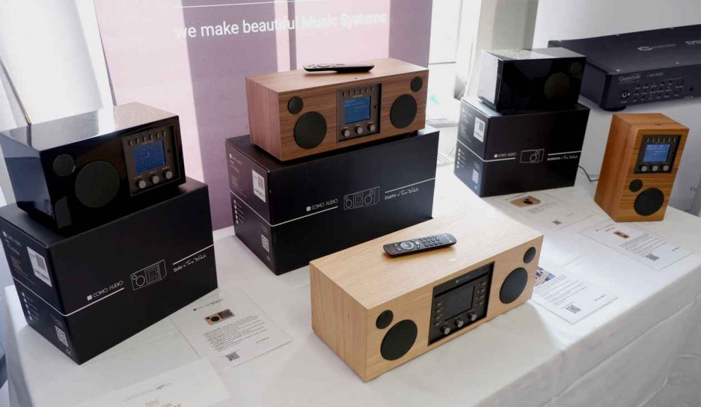 Como Radio wie Tivoli Audio mit Bleutooth, Streamer