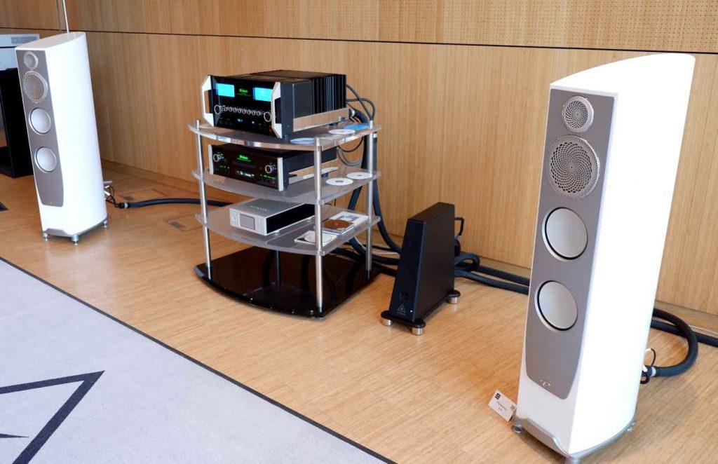 Lautsprecher Paradigm 9F mit McIntosh und Auralic
