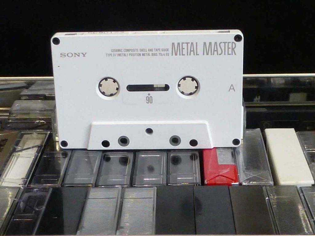 Cassette Sony Metal Master