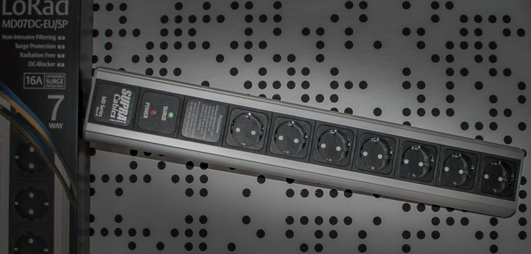 Supra Cables LoRad Netzleiste MK III MD07 DC 16 EU