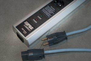 Supra Cables LoRad Netzleiste MK III MD07 DC 16 EU mit Anschlusskabel