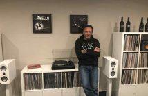 Thorge Benthien in seinem neuen HiFi-Studio in Hamburg