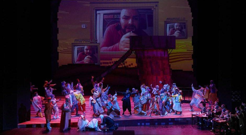 Szenenfoto (Quelle: Oper Stuttgart)