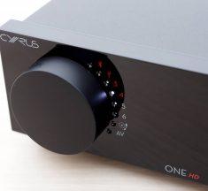Test: Cyrus ONE HD – Vollverstärker mit DAC