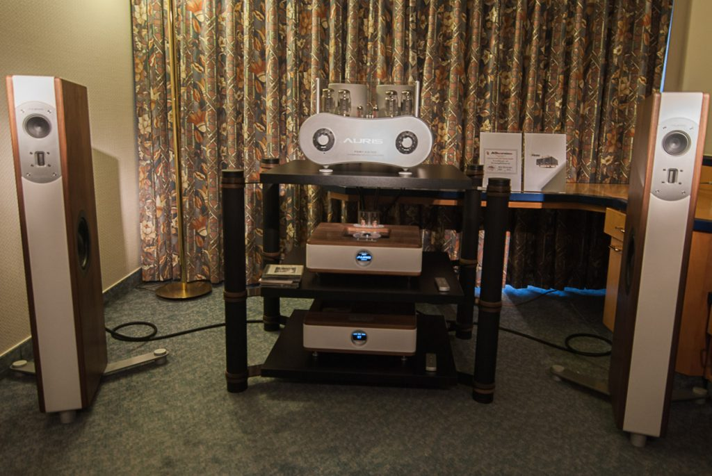 AURIS Setup mit Röhrenvollverstärker