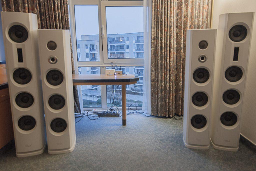 Backes und Müller Aktiv-Lautsprecher BM Prime 12 und BM Prime 14