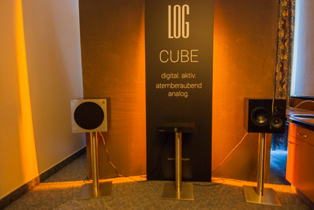 Aktive Lifestyle Würfel LOG Audio CUBE I