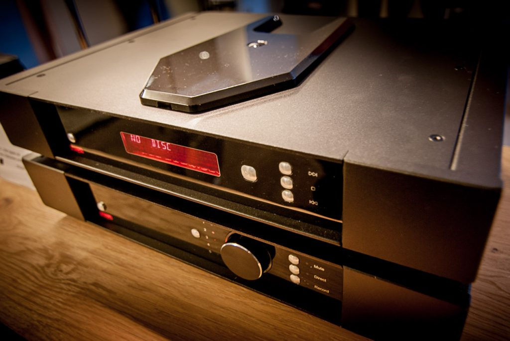 Rega Saturn R CD-Spieler. Hallo Star Trek!