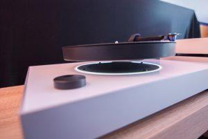 MAG-LEV Audio ML1 Plattenspieler mit magnetischem Teller