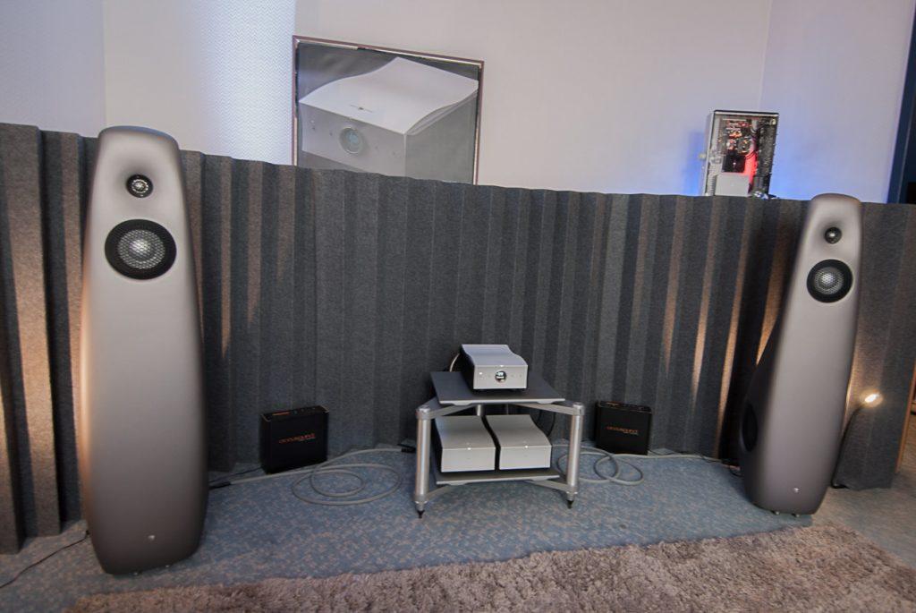 Feines Setup: mola-mola Elektronik an Vivid Audio Lautsprechern