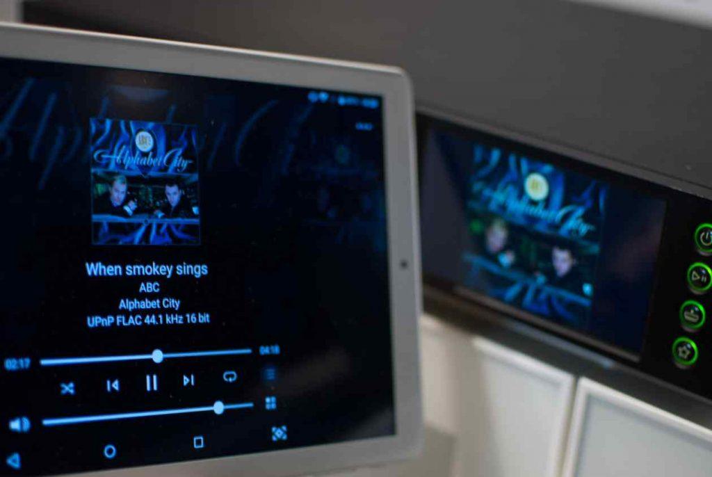 Naim NDX 2 Bedienung an App und Display