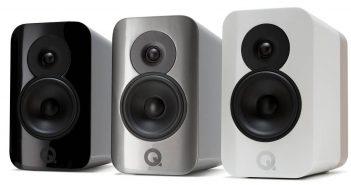 Q Acoustics Conzept 300 Kompaktlautsprecher alle 3 Farben