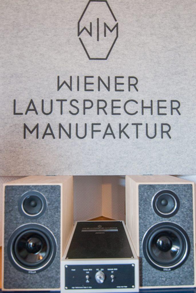 Wiener Lautsprecher Manufaktur Kompakt-Anlage mit Lautsprecher Stella