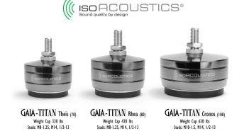 Lautsprecherfüße von Gaia Titan