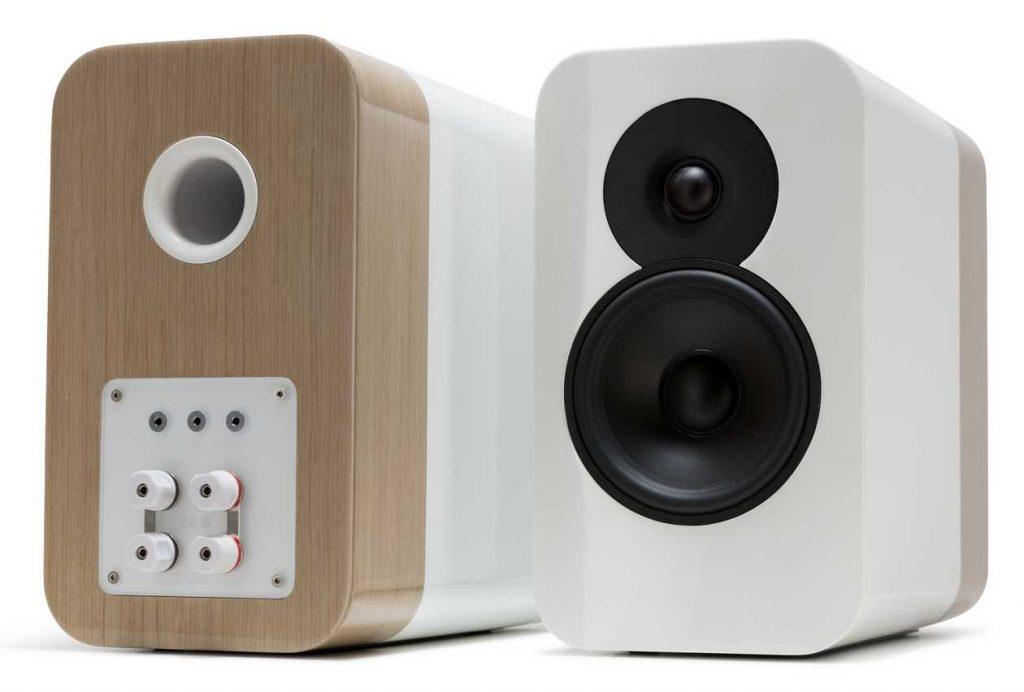 Kompaktlautsprecher Q Acoustics Concept 300 mit Bi-Wiring Terminal
