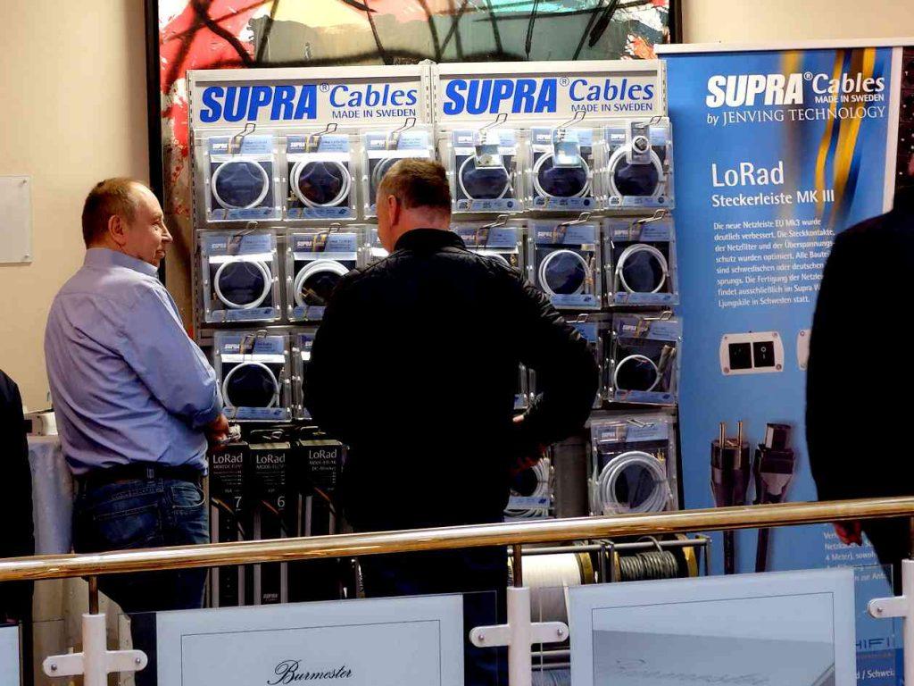 Supra Cables auf den Norddeutschen HiFi-Tagen 2019 in Hamburg