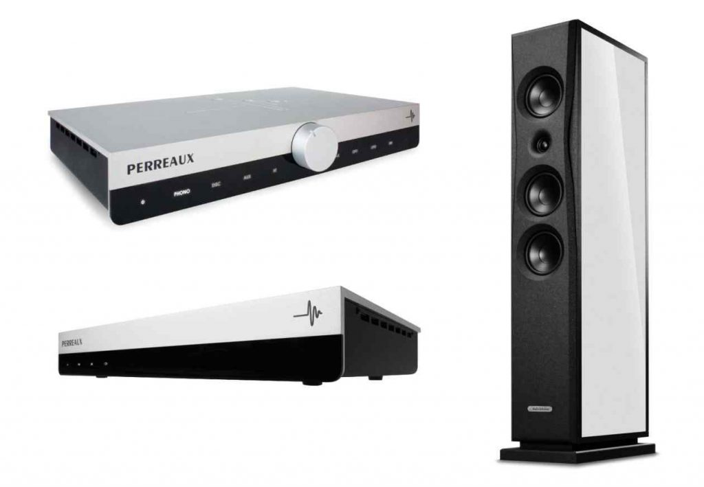Audio Solutions Lautsprecher und Perreaus HiFi-Verstärker