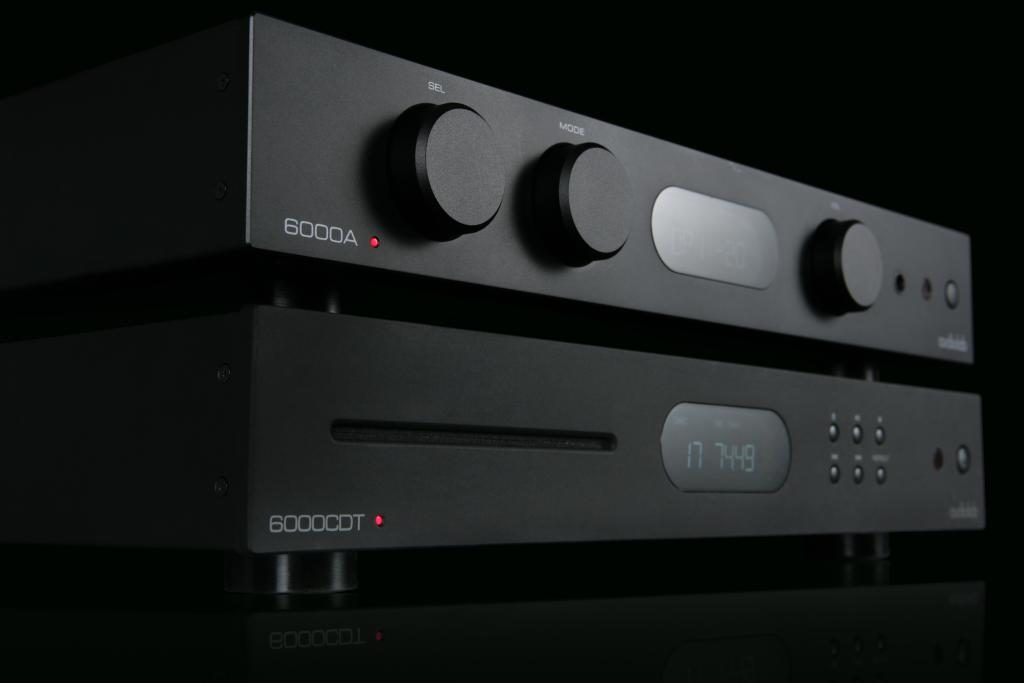 Audiolab HiFi Vollverstärker und CD-Spieler Serie 6000