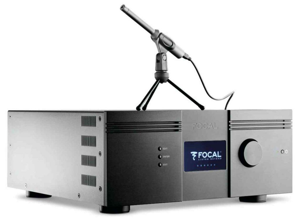 Focal Astral Surroun-Verstärker jt Einmessung und Mikro