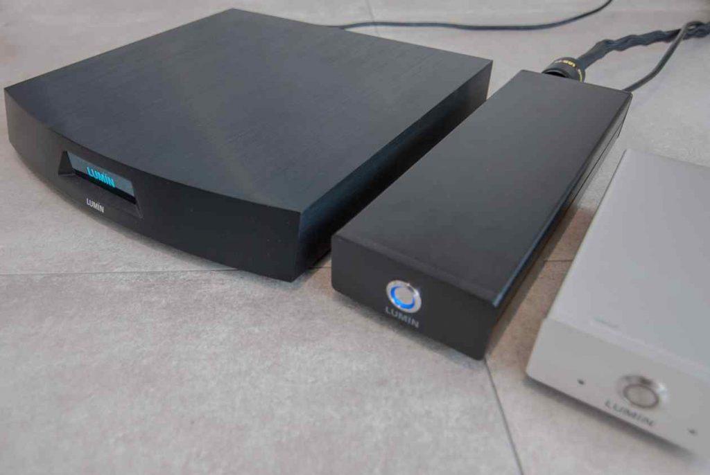 LUMIN-U1 mit Netzteil und Server L1