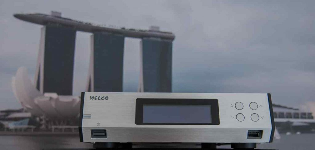 MELCO-N100 Front