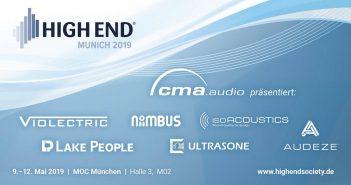 High End 2019 Aussteller cma audio vertrieb