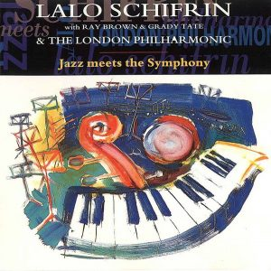Lalo Schifrin: Jazz meets Symphony Cover mit dem Stück Blues in the Basement