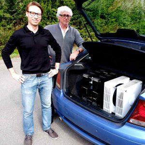 ModalAkustik MusikBass: Michael Wydra & Axel Ridtahler