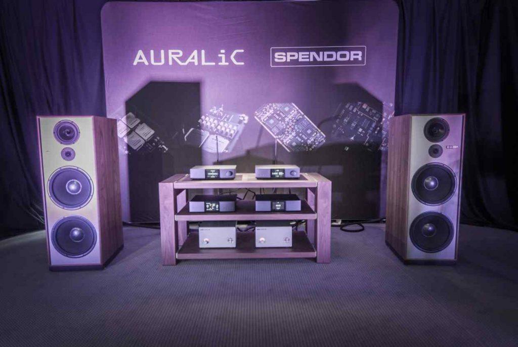 Auralic und SPENDOR Setup